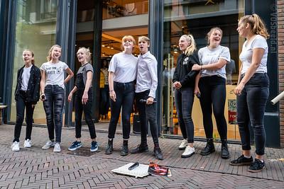Deventer Jeugdmusical bij Schräder - Lange Bisschopstraat