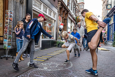 Sportieve uitdaging bij Studio Rechtuit in Kleine Overstraat