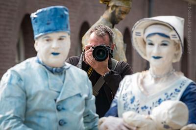 Living Statues Boreel 2015