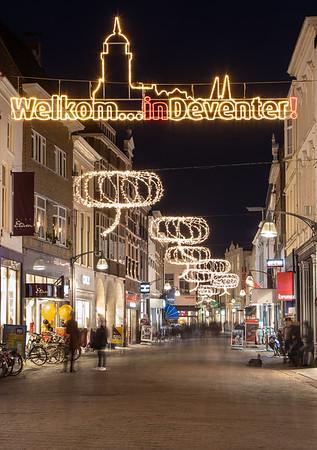 Nieuwe sfeerverlichting | Deventer Shopping Night 2018