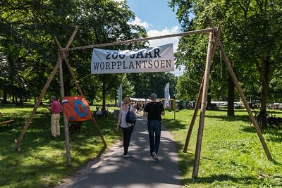 Welkom in het 200 jaar oude plantsoen