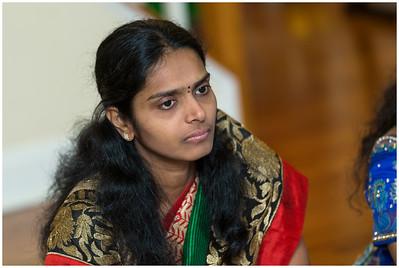 Divya Saree Function