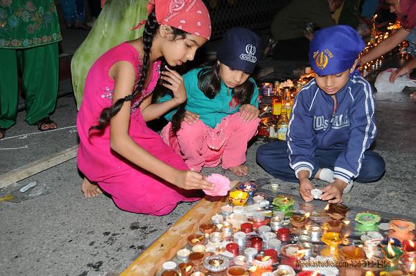 Diwali 2009  Gurdwara Sahib SJ