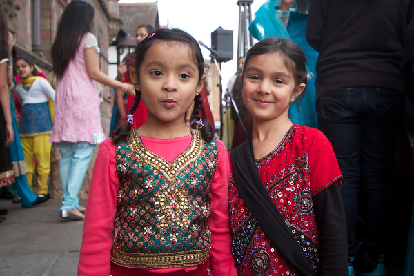Diwali 2011 in chester kids street party