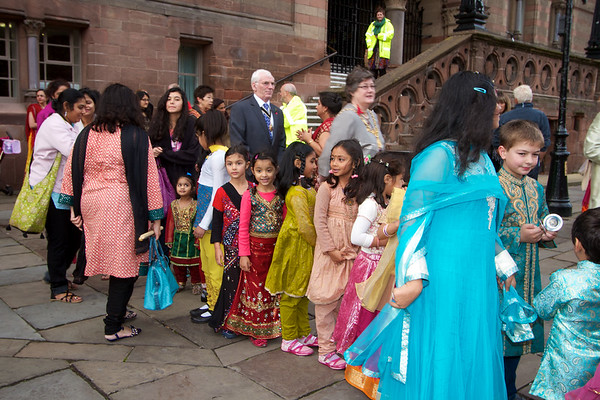 Diwali 2011 in chester Town Hall