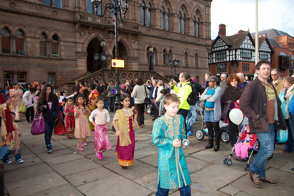 Diwali 2011 in chester