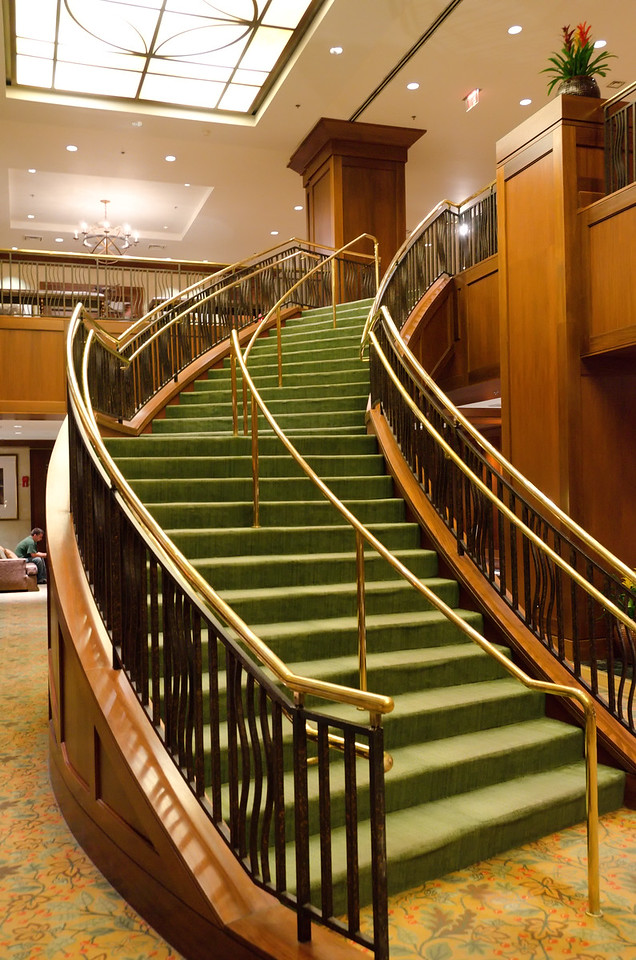 Hotel stairs