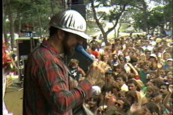 """This a piece from the Stone's Throw series produced by Ben Stone and Doug Gilchrist in the early 1980s is about Beach Music. It was all shot at the 1981 Emerald Isle Beach Music Festival and includes interviews with Bill Pinkney of the Drifters and Danny Woods of Chairmen of the Board. The Embers sing """"I Love Beach Music"""" the Drifters """"Stand by Me"""" and Chairmen of the Board """"Higher and Higher""""."""