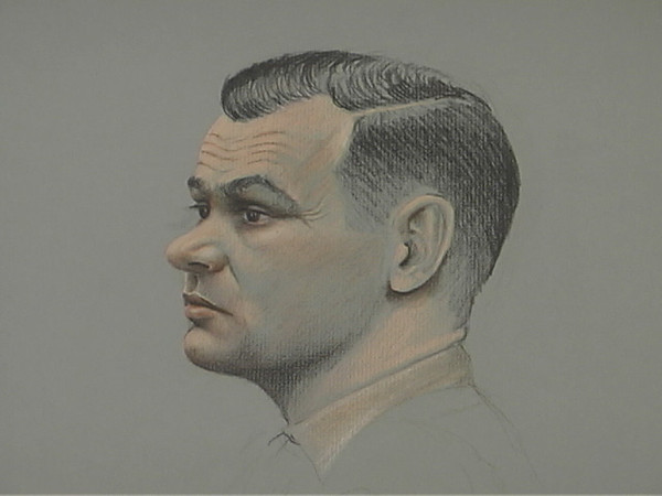 Back in 1980  when Robert Garwood was freed from his captivity in Vietnam and  arrived at Camp Lejune he was tried for treason. A year long trial ensued where psychiatrists and former prisoners testified to his actions and state of mind. I was hired by CNN to do courtroom sketches every day to be used in telling the story of his experience as seen through the eyes of his detractors. He was ultimately convicted and deprived of his military benefits, I believe falsely, but by military code. These are my drawings from that trial.
