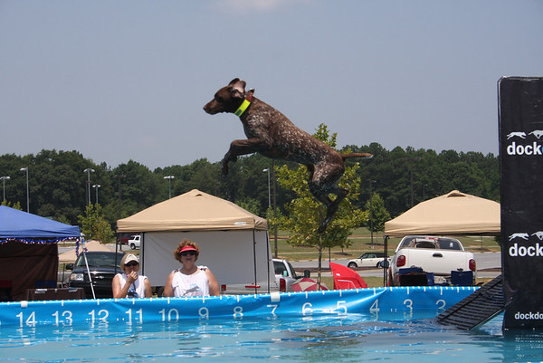 Dock Diving Event - July 2011