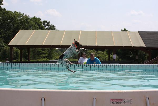 Dock Diving - June 4, 2011