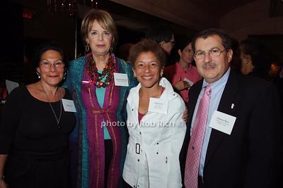 Linda Stein, Deborah Krulewitch, Edith Perez, Hyman Muss photo by Rob Rich © 2007 robwayne1@aol.com 516-676-3939