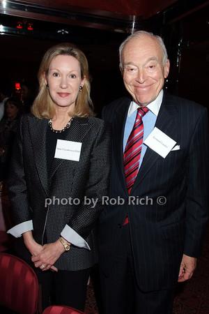 Anne Eisenhower Flottl, Leonard Lauder photo by Rob Rich © 2007 robwayne1@aol.com 516-676-3939