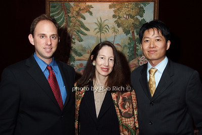 Jeffrey Peppercorn, Susan Hirschorn, Sao Jiralers Pong photo by Rob Rich © 2007 robwayne1@aol.com 516-676-3939