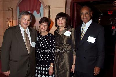 Arnold Levine, Myra Biblowit, Peg Mastrianni, Harold Freeman photo by Rob Rich © 2007 robwayne1@aol.com 516-676-3939