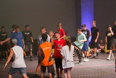 Dodge Ball at Friendswood Community Church