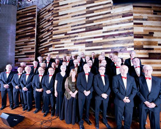 Dofasco Male Chorus Group Photo Shoot