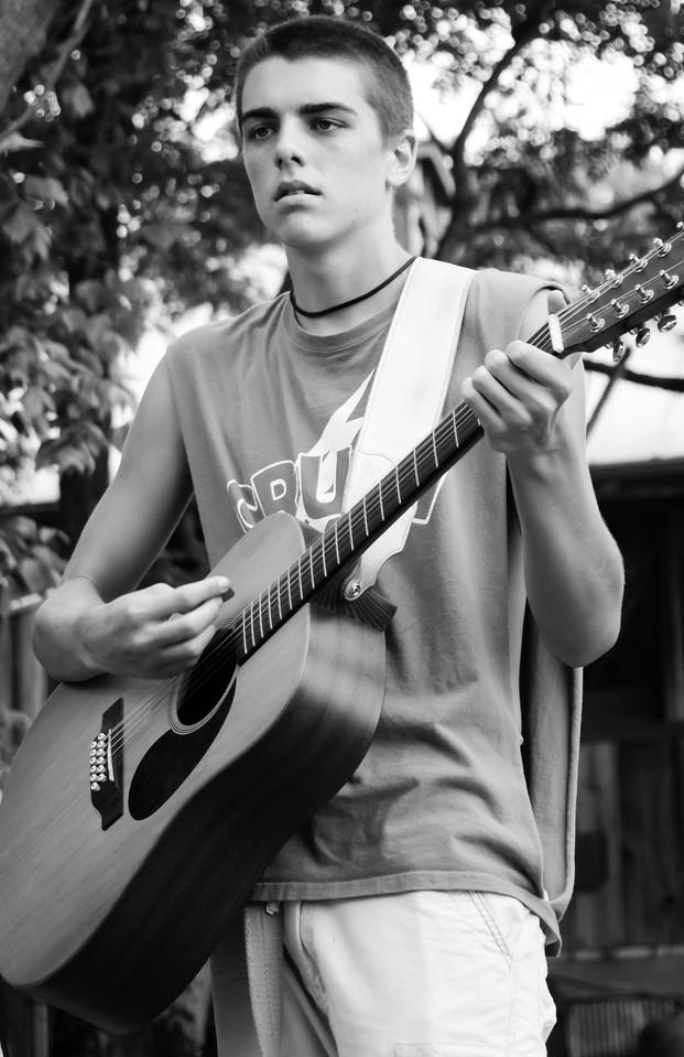 Matt Cummins of the Little Rebel Band