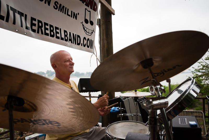 Jack Fehrman of the Little Rebel Band