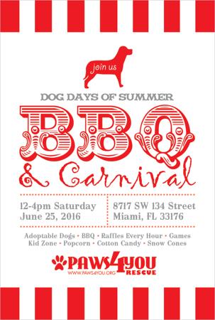 Dog Days of Summer BBQ 2016