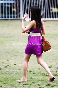 The annual Dogwood Festival in Piedmont Park, Atlanta GA.