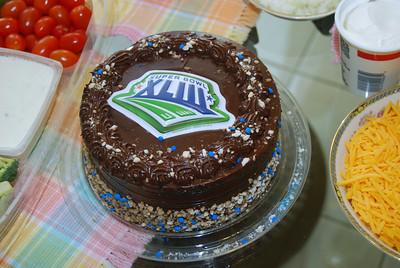 01 Super Bowl 43 Cake