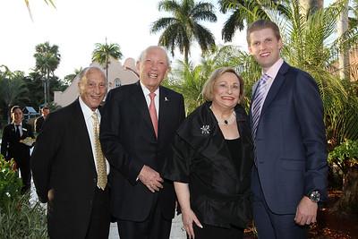 IMG_0993 Michael Gutierrez,Arnold & Joan Weiss, Eric Trump