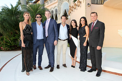 IMG_1059 Dashil Hernandez,Andrew Joblon,Eric Trump,Andrew Graves,Iliana,Gina & Dr Thomas Tzikas