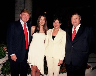 Donald & Melania Trump with Melania's Parents