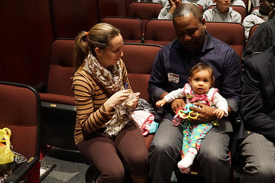 Maurice Blackwell '94 came in with his family.