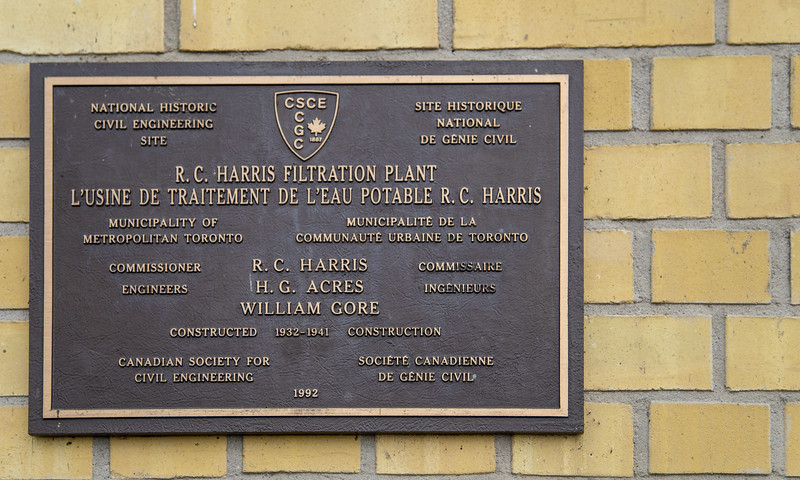 The R.C. Harris Water Treatment Plant