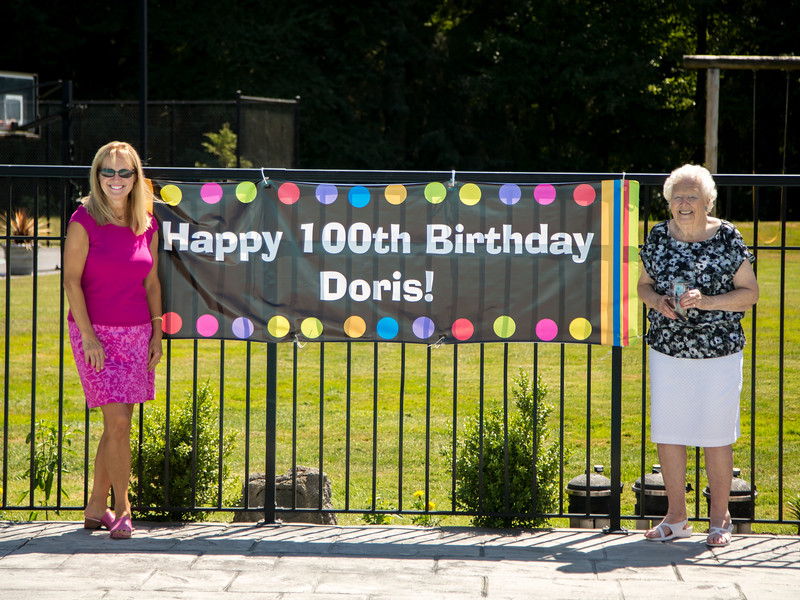Doris Bolton 100th BDay