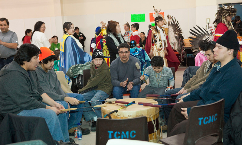 Double M Pow-wow Moose Factory 2009 February15th