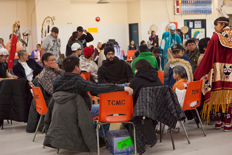 Double M Pow-wow Moose Factory 2009 February 15th