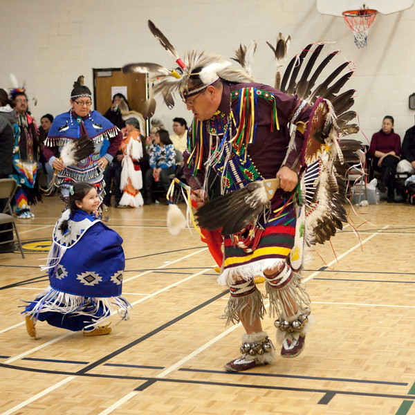 Sixth Annual Double M Pow-wow 2009 February 14, Moosonee<br /> Full size file with neat image noise reduction