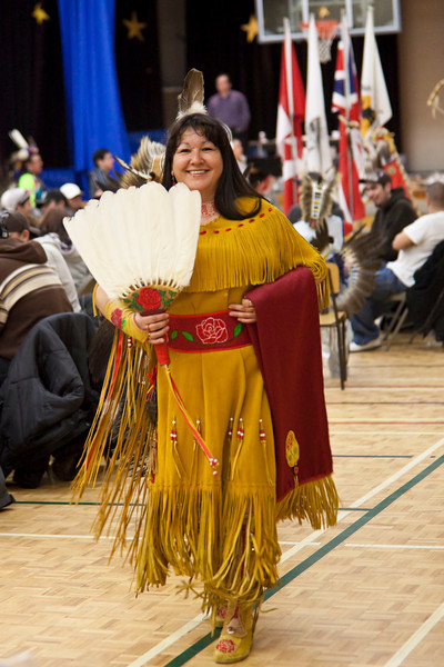 Sixth Annual Double M Pow-wow 2009 February 14, Moosonee<br /> Full size file with neat image applied