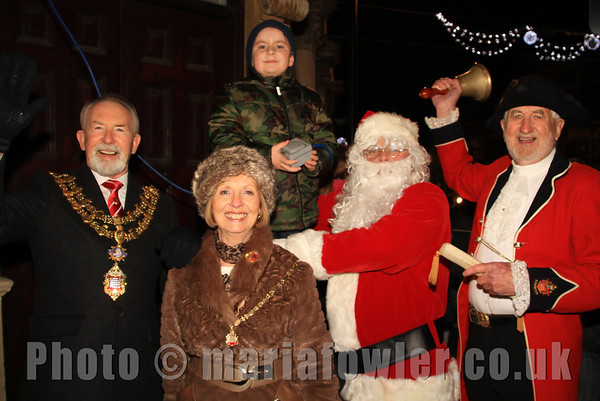 Dovercourt Christmas Lights Switch-On 2013