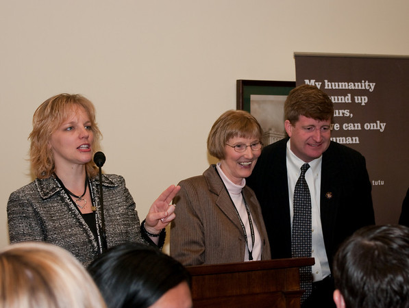 Amy Allison (DSG of KC); Sheila Hebein (NADS); Representative Patrick J. Kennedy