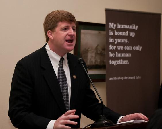 Representative Patrick J. Kennedy