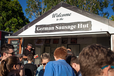 German Sausage Hut - Downey Park Food Trucks, Windsor, Brisbane, AUS; Sunday 26 April 2015. Pics by Des Thureson - http://disci.smugmug.com