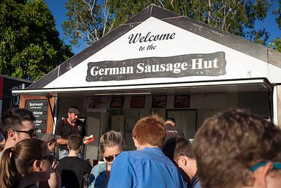 German Sausage Hut - Downey Park Food Trucks, Windsor, Brisbane, AUS; Sunday 26 April 2015. Pics by Des Thureson - http://disci.smugmug.com