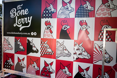 The Bone Lorry - Downey Park Food Trucks, Windsor, Brisbane, AUS; Sunday 26 April 2015. Pics by Des Thureson - http://disci.smugmug.com