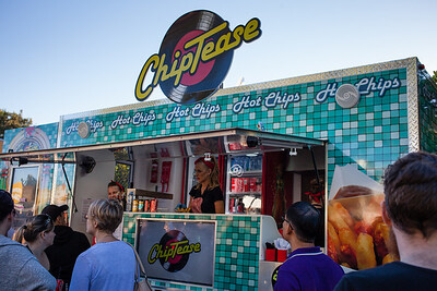 ChipTease - Downey Park Food Trucks, Windsor, Brisbane, AUS; Sunday 26 April 2015. Pics by Des Thureson - http://disci.smugmug.com