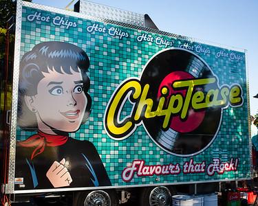ChipTease - Downey Park Food Trucks, Windsor, Brisbane, AUS; Sunday 26 April 2015. Pics by Des Thureson - http://disci.smugmug.com