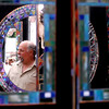 "Randy Romanin of Mountain Mosaics is reflected in one of his creations.<br /> The 32nd Annual  Downtown Boulder ArtFair continues Sunday fro 10 a.m. to 5 p.m. on the Pearl Street Mall.<br /> For more photos and a video of the fair, go to  <a href=""http://www.dailycamera.com"">http://www.dailycamera.com</a>.<br />  Cliff Grassmick / July 17, 2010"