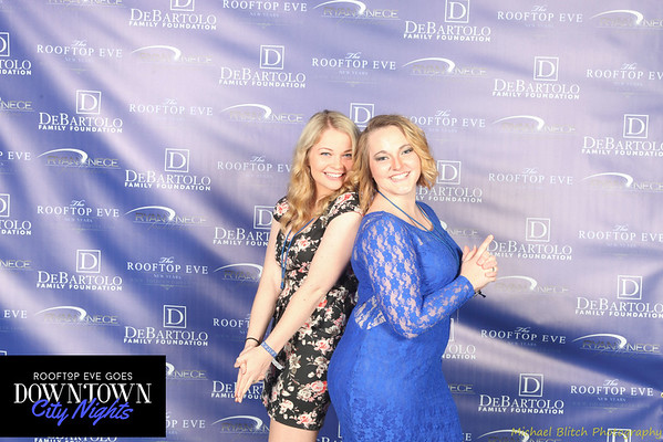 Downtown City Nights New Years Eve 2015 Photo Booth
