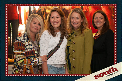 Lisa Wallace of Gonzales Architects, Samantha Beetler, Tammy Rako and Patti King of Wells Fargo