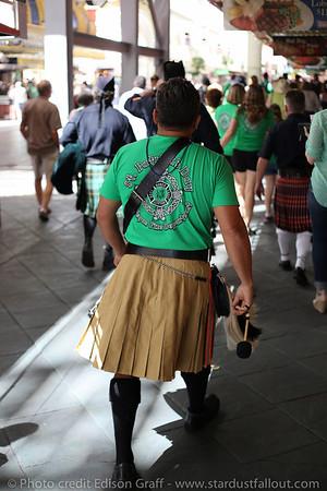 Downtown Las Vegas St. Patrick's Day 2014