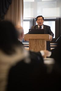 Dr. Henry Lee visits Westfield State University