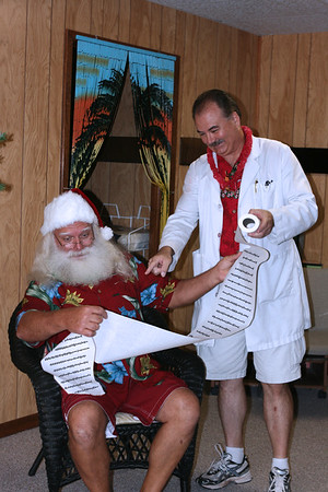 Dr. Hughes_Christmas In July 2008